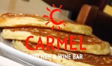 Carmel pancakes