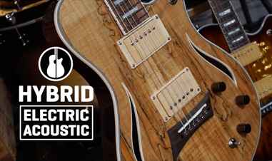 body of Michael Kelly Hybrid Electric Acoustic guitar