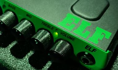 closeup of controls on ELF