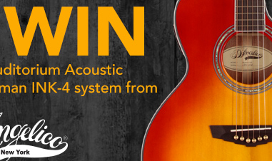 win a Fishman Auditorium Acoustic INK-4 system promotion
