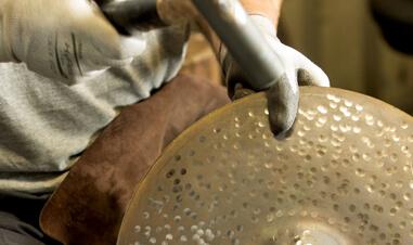 man hand-making symbol